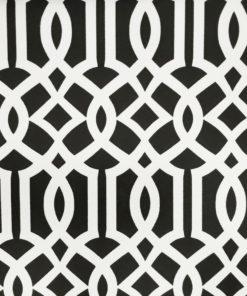 abazur czarno-biały