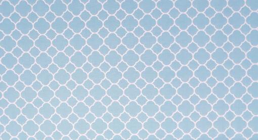 abażur marokanski niebieski