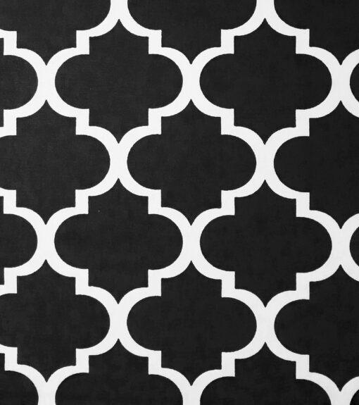 abażur marokański czarny