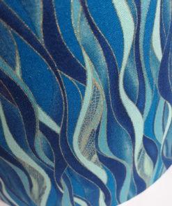 abazur niebieski