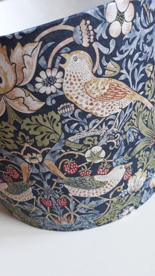 abażur vintage do lampy ptaki