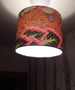 abażur do lampy z materiału