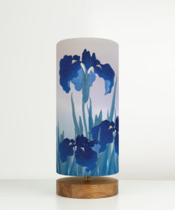 lampa dekoracyjna niebieska