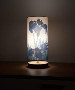 lampa stołowa niebieska nastrojowa