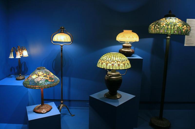 historia lamp stołowych