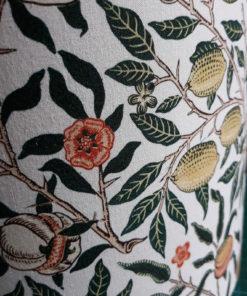 abażur do lampy stołowej biały vintage