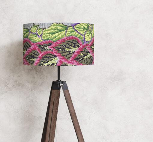 abażur na lampę stojącą kolorowy 35 cm