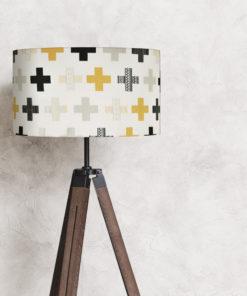 abażur na lampę stojącą biały 35 cm