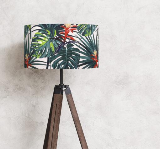 abażur do lampy podłogowej dżungla
