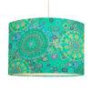 abażur turkusowy do lampy