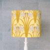 abażur art deco do lampy stołowej cylinder ważki