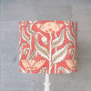 abażur różowy art deco do lampy stołowej cylinder maki