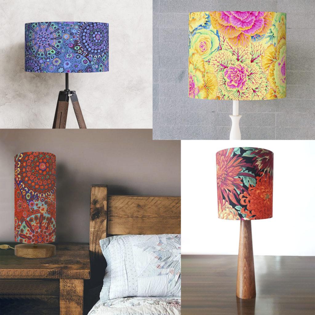 lampy z abażurem dekoracyjne
