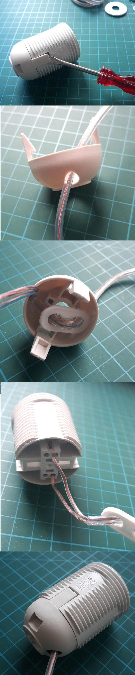 jak zrobić lampę z butelki bez wiercenia w szkle