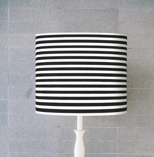 abażur do lampy sklep czarno-białe paski