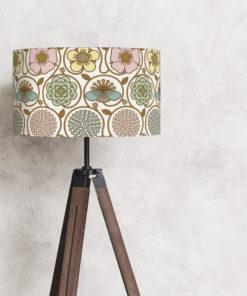 abażur do lampy podłogowej, stojącej pastelowy