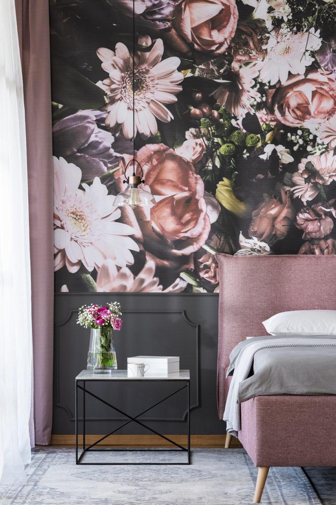 wzory kwiatowe w dekoracji jak używać