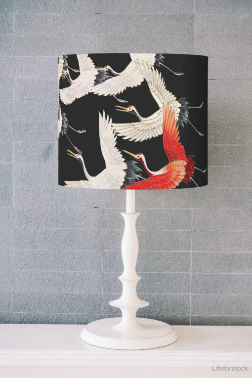 abażur czarny do lampy stołowej