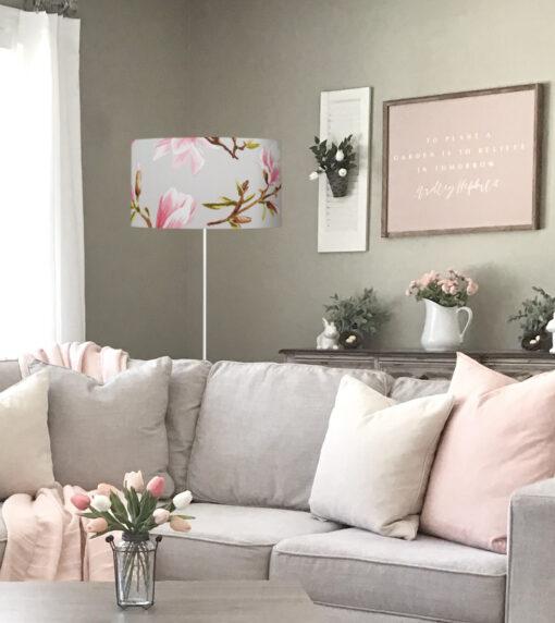 abażur szary magnolie sklep lampidarium