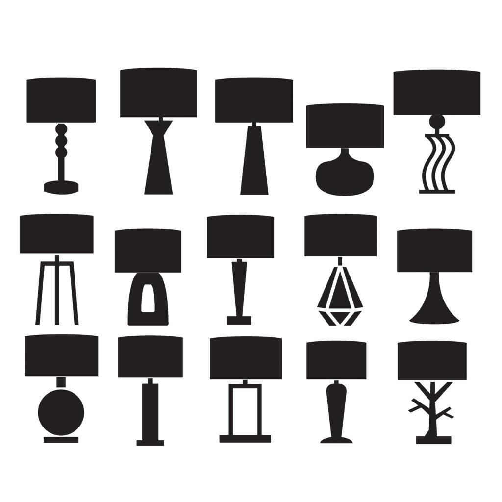 abażury do lamp uniwersalny cylinder