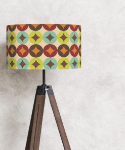 abażur retro na lampę podłogową