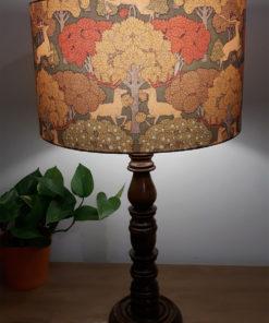 abażur cylinder do lampy art deco