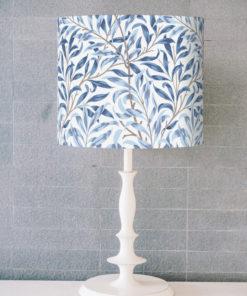 abażur biało-niebieski na lampę sklep