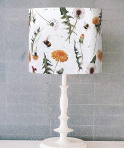 abażur rośliny do lampy