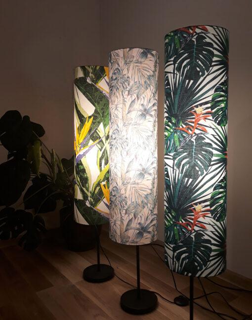 lampa podłogowa z abazurem dekoracyjna sklep
