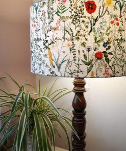 abażur wzorzysty, klosz do lampy w kwiaty