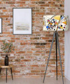abażur klosz na lampę cylinder dekoracyjny