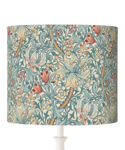 klosz na lampę vintage william morris