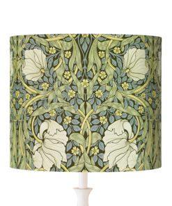 abażur klosz ornament rośliny vintage cylinder
