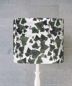 klosz do lampy w liście, rośliny cylinder
