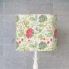 abażur do lampy stołowej vintage kwiaty