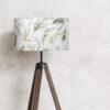 abażur klosz na lampę stojącą dekoracyjny rośliny botaniczny