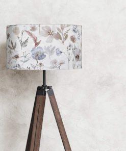 abażur klosz kwiaty liście na lampę podłogową