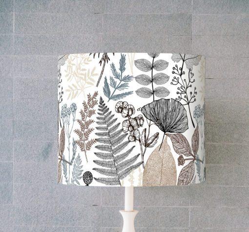 klosz na lampę abażur rośliny cylinder