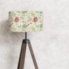 klosz abażur vintage kwiaty na lampę
