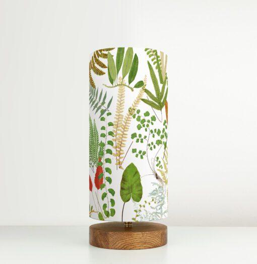 lampa do salonu wzór botaniczny