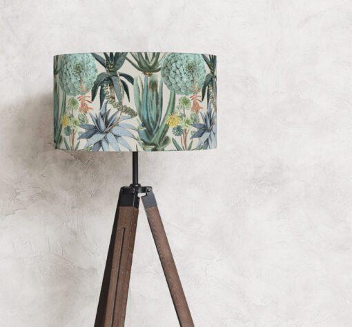 klosz do lampy stojącej zielony