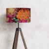 abażur klosz do lampy kwiaty