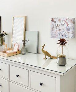 abażur pastelowy na lampę stołową