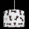 żyrandol dziecięcy, lampa sufitowa koty