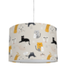 żyrandol dziecięcy beżowy koty