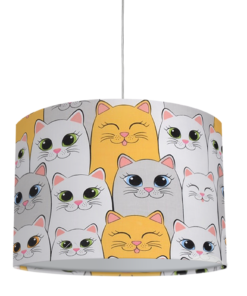 lampa sufitowa dla dzieci koty